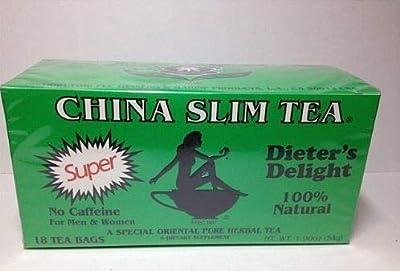 China Slim Tea Super Slim Diet Herbal Tea 100% Natural Herb 18 Tea bags