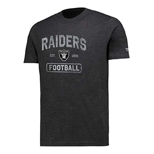 Fanatics NFL Football T-Shirt Las Vegas Raiders Distressed Fanshirt (XXL)