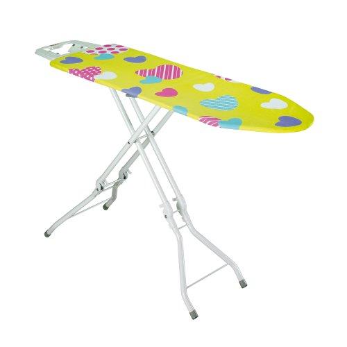 Rayen 6054 - Tabla de planchar plegable, con altura de las patas regulable, 120 x 38.84 x 38 x 10 cm
