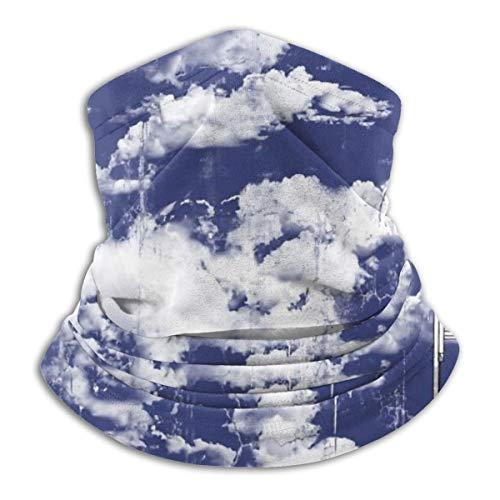Painting-The Cloud Fleece-Halswärmer Winddicht Winter Neck Gaiter Kaltes Wetter Gesichtsmaske für Männer Frauen