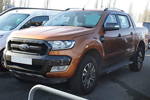 Autoclover Wind Deflectors Set for Ford Ranger 2012+ (4 pieces)