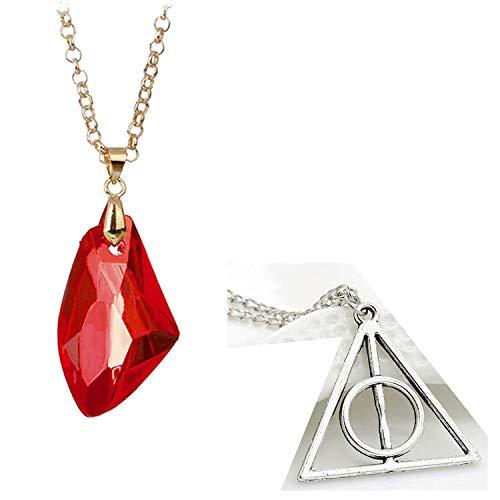 Triángulo I Doni de la Muerte Deathly Hallows – Piedra filosofal Philosopher's Stone