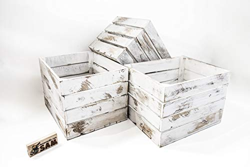 Cajas Decorativas Vintage Blanca cajas decorativas vintage  Marca DECORANDO CON SAM