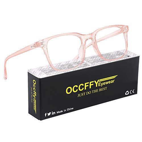Occffy Gafas para Ordenador Anti luz Azul Antifatiga Sin Graduacion Gafas Luz...