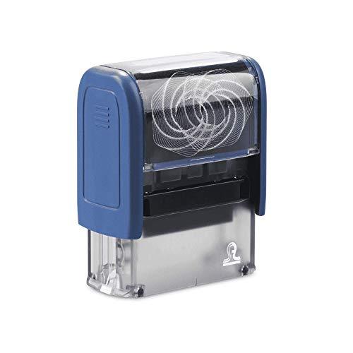 Tampon Bureau/Tampon encreur professionnel personnalisé (Small (37x13 mm))