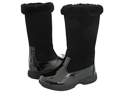 Tundra Boots Kids Sara (Little Kid/Big Kid) (Black) Girls Shoes