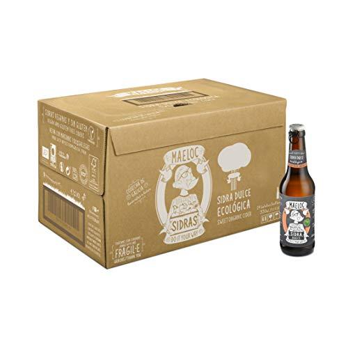 Maeloc Sidra Dulce Ecológica - 24 botellas x 330 ml