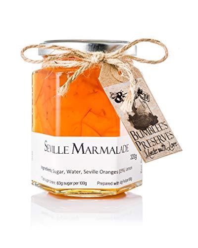 Bumblee's Vasetto di marmellata artigianale arancia amara 1 vasetto di 330 g Marmellata fatta a mano nel Regno Unito Senza conservanti o aromi artificiali Cotta a fuoco lento