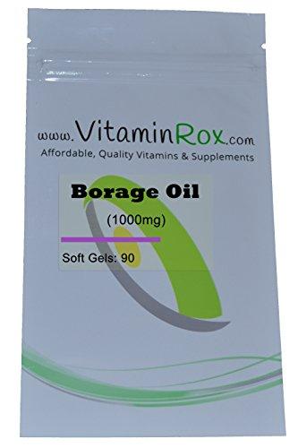Borage Oil [1000mg] - 90 softgels [Aceite de borraja | Starflower Oil]
