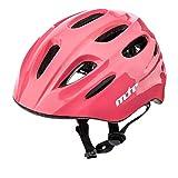 Casco Bicicleta Bebe Helmet Bici Ciclismo para Niño - Cascos para Infantil Bici Helmet para Patinete Ciclismo Montaña BMX Carretera Skate Patines monopatines KS01 (XS 44-48 cm, MTR Pink)