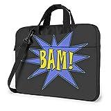 15.6″Durable Hombro Mensajero Bolsa maletín PC ¡Bam! Mod
