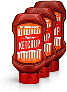 Whataburger Fancy Ketchup - 3 pack – DIRECT FROM WHATABURGER - Whataburger Fancy Ketcup (3pack/20oz)