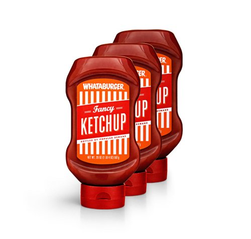 Whataburger Fancy Ketchup - 3 pack - DIRECT FROM WHATABURGER - Whataburger Fancy Ketcup (3pack/20oz)