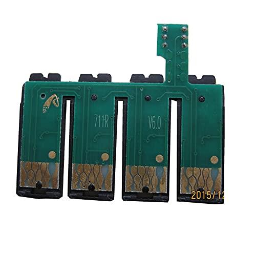 T0711 Chip Permanente ciss para Impresora EPSON Stylus DX7400 DX7450 DX8400 DX8450 DX9400F S20 S21 SX100 SX110 SX105 SX115 SX200