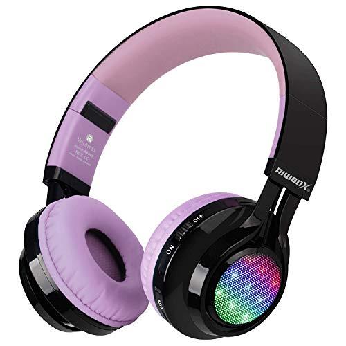 Bluetooth Headset, Riwbox AB005 Wireless Headphones 5.0 with...