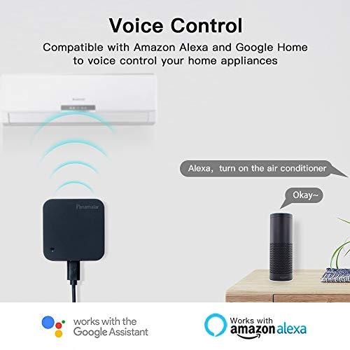 Telecomando IR Smart, Smart Home Automation, Panamalar wireless WiFi controllo IR universale Hub compatibile con ALEXA (IR001)