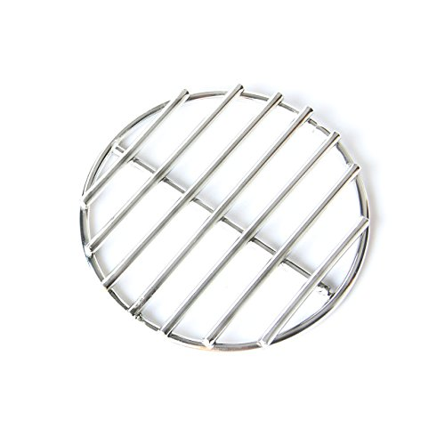 KAMaster 17' BBQ High Heat Stainless Steel Charcoal Fire Grate Fits for XL Big Green Egg Fire Grate and Weber Grill Parts Charcoal Grate Replacement Accessories(17') …