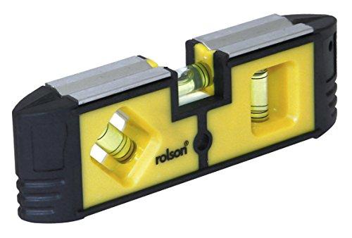 Rolson 54114 Mini Magnetic Level - Multi-Colour