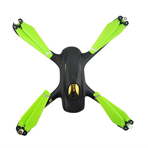 4pcs Faltbare Propeller CW / CCW für Hubsan H501 X4 MJX B2W B2C RC Quadcopter Drohne (Grün)