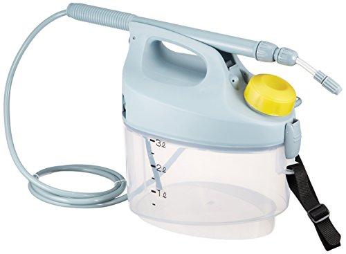 工進(KOSHIN) 乾電池式 噴霧器 タンク 3L ガーデンマスター GT-3S 洗浄スイッチ付 単一 電池 4本 防除 消毒 散布 肩掛け 家庭 お庭 手軽 簡単