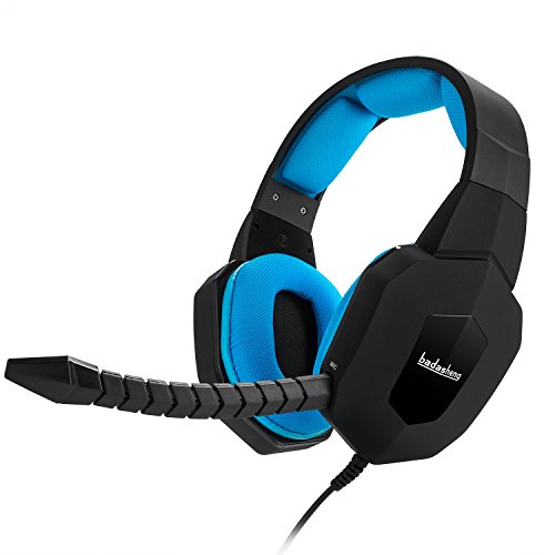 HUHD? HW-399M 2.4Ghz Optical Wireless Gaming Headset for Xbox 360,Xbox one, PS4,PS3, PC, with Detachable Microphone (B)
