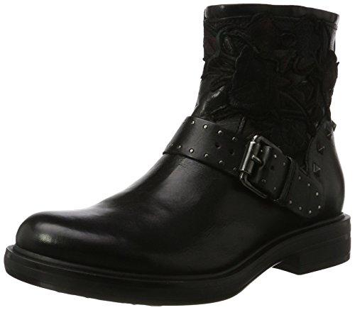 Mjus Damen 544265-0101-6002 Combat Boots, Schwarz (Nero), 39 EU
