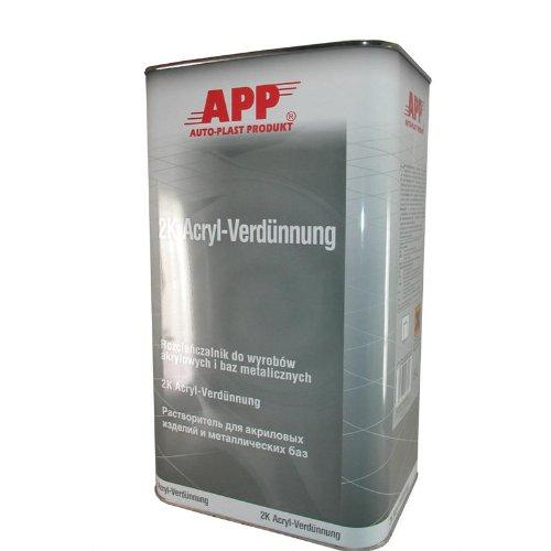 APP 2K Acryl Verdünnung 5 Liter Kanister 030130