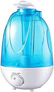 Adofi 4L Tank Cool Mist Humidifier for Large Bedroom