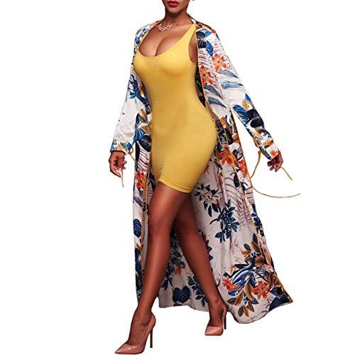 Overdose Playa De Verano De Las Mujeres De Moda Mejor Venta De Vacaciones Estampado Floral Ropa De Playa SPA NatacióN Kimono Bikini Boho Cardigan