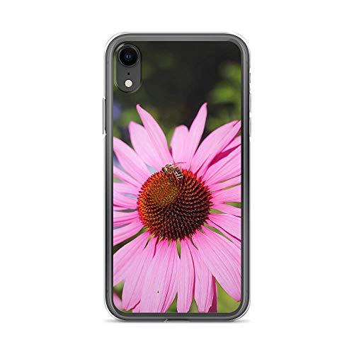 blitzversand Handyhülle Flower Power kompatibel für Samsung Galaxy A3 2017 Sonnenhut Purpur Schutz Hülle Case Bumper transparent rund um Schutz Cartoon M11