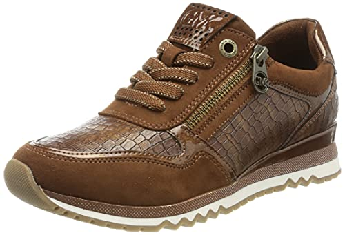 MARCO TOZZI 2-2-83701-27, Zapatillas Mujer, Cognac Comb, 37 EU