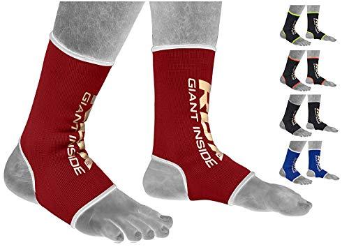 RDX Fitness Soporte Tobillo Boxeo Deportivas MMA Tobillera Estabilizadoras Esguince Baloncesto