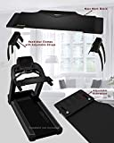 DigitalArts.ws Pro-XT Plus - Walk with Me (Diamond Grey) Expandable Treadmill Workstation