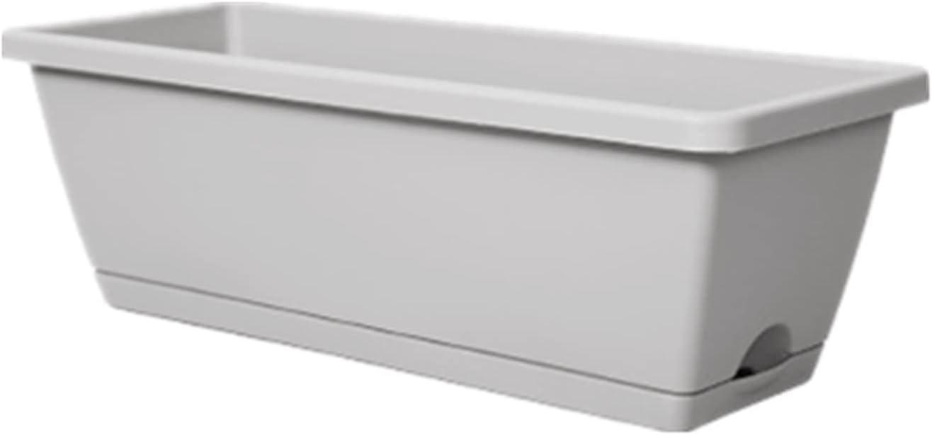 Planter Raised Beds Balcony Windowsill Railing Online limited product Memphis Mall Plastic Pot Patio