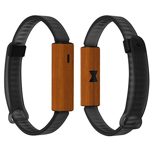 Skinomi Light Wood Full Body Skin Compatible with Misfit Ray Fitness Tracker (Full Coverage) TechSkin Anti-Bubble Film