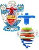 Hanukkah Dreidel Musical Bouncing Light-Up Dreidel Hanukkah Toys - Assorted Colors