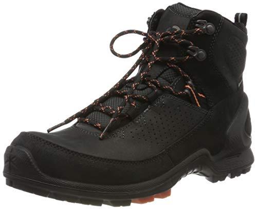 Ecco Damen BIOMTERRAINW Trekking- & Wanderstiefel, Schwarz (Black/Black 51052), 37 EU