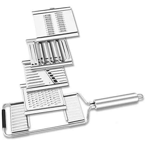Shumu Multiusos Slicer Cortes De Acero Inoxidable Rallador Peeler Set Queso Rallador De Repollo Herramienta De Cocina Para Cocina