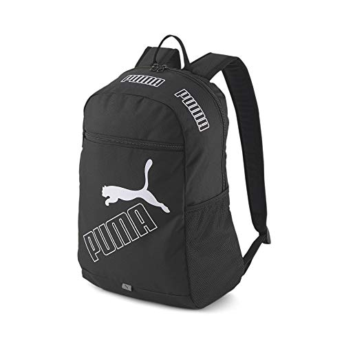 PUMA Phase Backpack II Mochilla, Unisex Adulto, Black, Talla única (OSFA)
