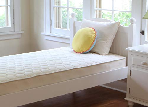 Hot Sale Naturepedic Organic Cotton Quilted Deluxe Mattress - One sided Twin - MT50-1