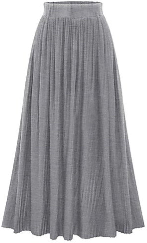 Unbekannt ZLL Damen Röcke - Sexy Maxi Baumwolle Mikro-elastisch, XL B073PVG9XT  Neuer Eintrag