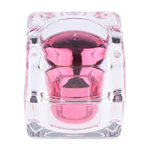 Injoyo 2 Couleurs Forme De Diamant Vide Crème Lotion Cosmétique Maquillage Pots Pots 30g - Rose
