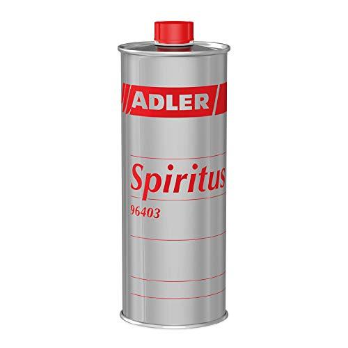 ADLER Spiritus - 500 ml - Hochwertiger Spiritus Verdünnung, Reiniger und Brennstoff. Der Allrounder für Haushalt, Auto, Gewerbe und Industrie