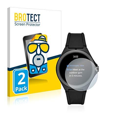 BROTECT 2X Entspiegelungs-Schutzfolie kompatibel mit Puma Gen 4 Heart Rate Smartwatch Bildschirmschutz-Folie Matt, Anti-Reflex, Anti-Fingerprint