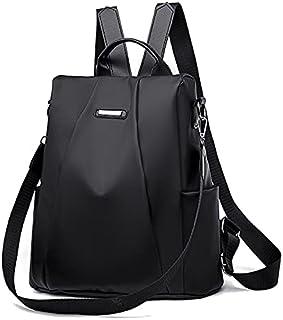 AMERTEER Travel Backpack Purse for Women, Anti-Theft Backpack Purse for Women, Ladies Shoulder Bag Backpack