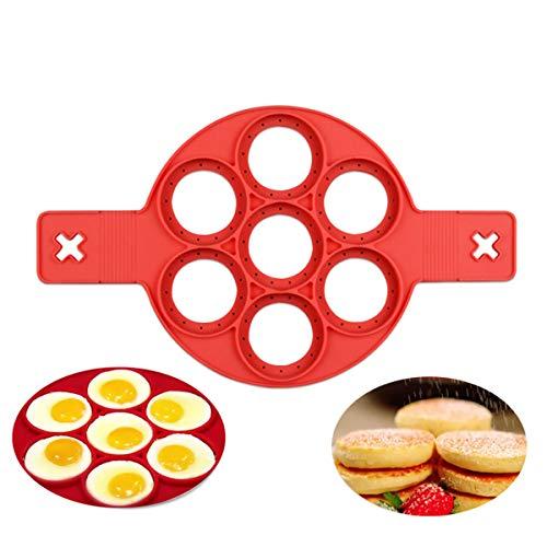 FantasyDay® Anelli in Silicone Antiaderente per Uova Stampi Pancake #2