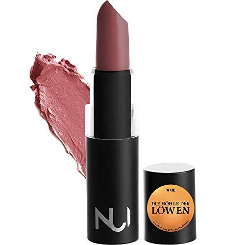 NUI Cosmetics Naturkosmetik vegan natürlich glutenfrei - Natural Lipstick KURA Lippenstift mit braunem Rosenholz Farbton