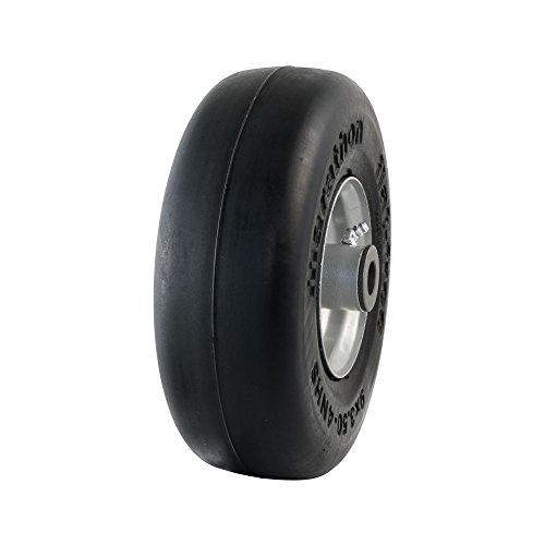 Marathon 01014 Rasenmäher-Reifen auf Rad, 22,9 x 8,5 - 10,2 cm, 1 Stück, 10,2 cm zentrierte Nabe, 3/4 Zoll Buchsen