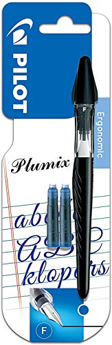 Pilot - Blister 1 Plumix + 2 cartouches - Stylo Plume - Encre Bleue - Plume fine