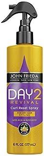 John Frieda Day 2 Revival Curl Reset Spray, 6 Fluid Ounce